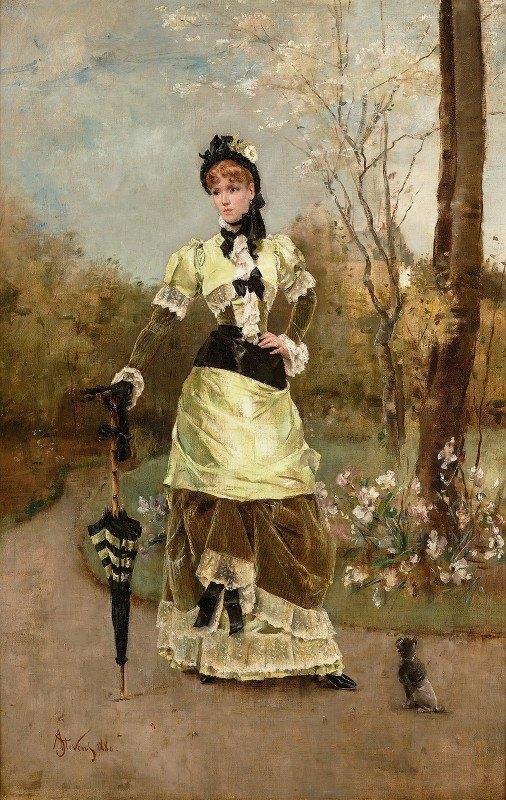 Alfred Stevens - La Parisienne