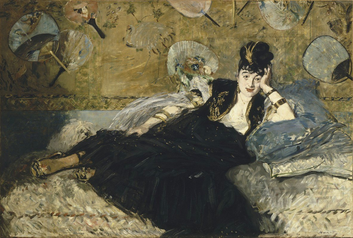 Édouard Manet - Woman With Fans