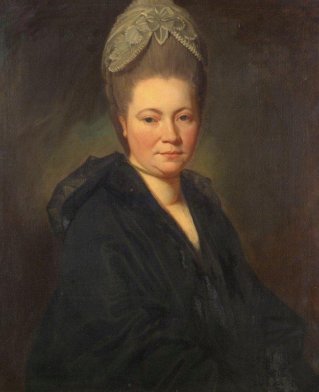 George Romney - Portrait Of Mrs. Marie-Jean Gomm