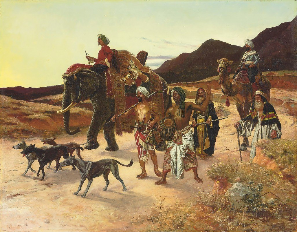 Rudolf Ernst - The Tiger Hunt