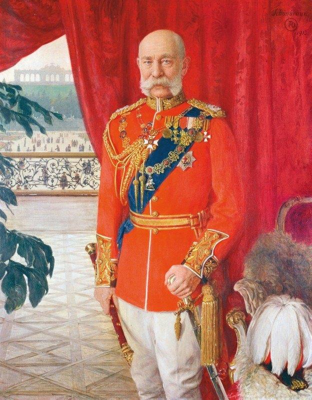 Tom Von Dreger - Kaiser Franz Joseph I. In Der Galauniform Eines Britischen Feldmarschalls