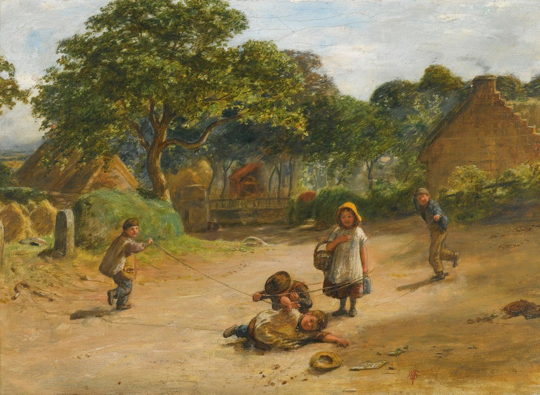 William Mctaggart - The Press Gang