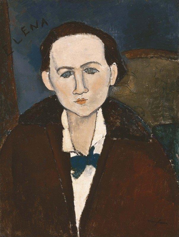Amedeo Modigliani - Elena Povolozky