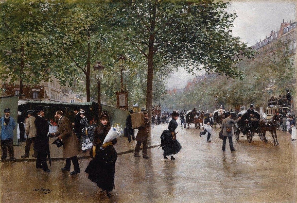 Jean Béraud - Sur Les Grands Boulevards