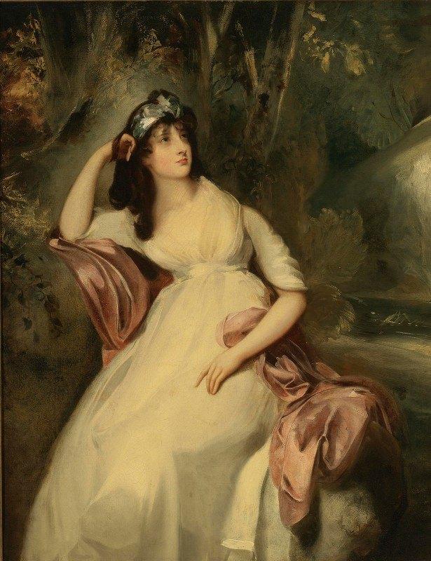 Sir Thomas Lawrence - Portrait Of Sally Siddons (1775-1803)