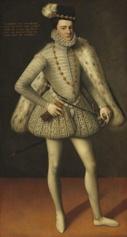 French 16th Century - Prince Hercule-François, Duc d'Alençon