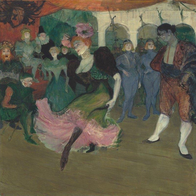 Henri de Toulouse-Lautrec - Marcelle Lender Dancing the Bolero