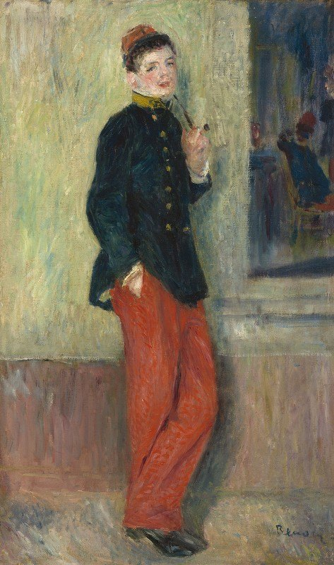 Pierre-Auguste Renoir - The Young Soldier