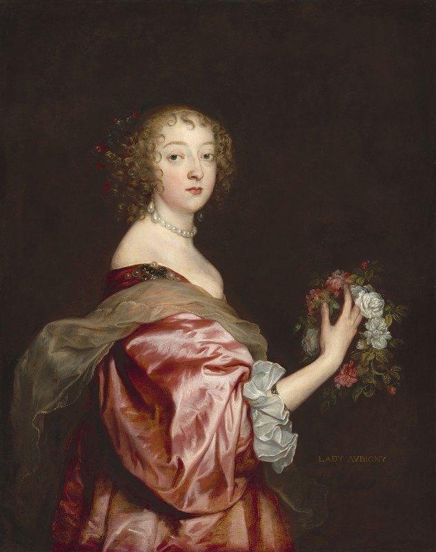 Anthony van Dyck - Catherine Howard, Lady d'Aubigny