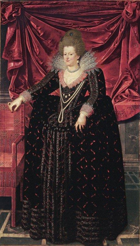 Frans Pourbus The Younger - Portrait of Maria de' Medici