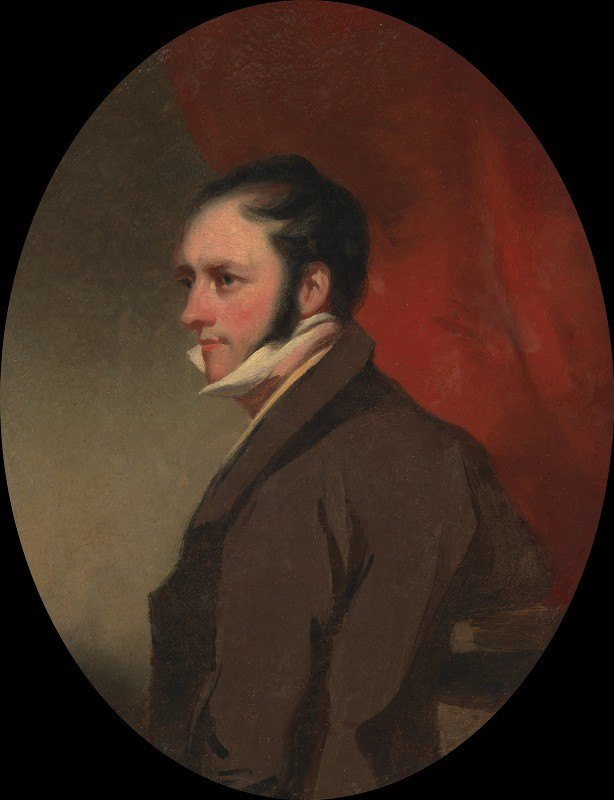 George Chinnery - A Man Called W. C. Hunter