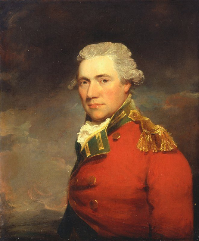 John Hoppner - An Unknown British Officer, Probably of 11th (North Devonshire) Regiment of Foot, c.1800