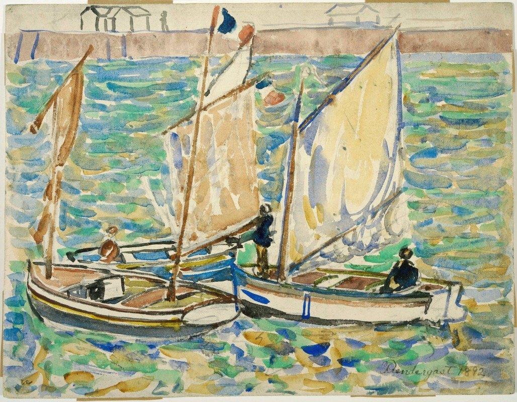 Maurice Prendergast - St. Malo