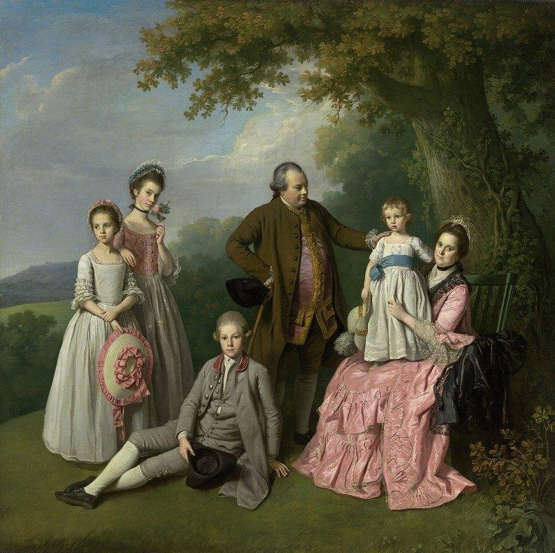 Nathaniel Dance Holland - The Pybus family