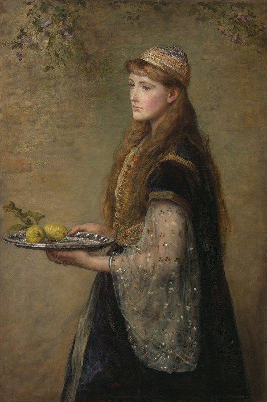 Sir John Everett Millais - The captive