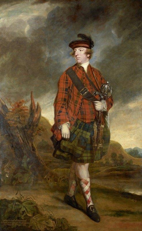 Sir Joshua Reynolds - John Murray, 4th Earl of Dunmore