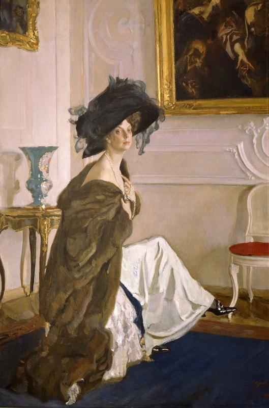 Valentin Alexandrovich Serov - Portrait of Princess Olga Orlova