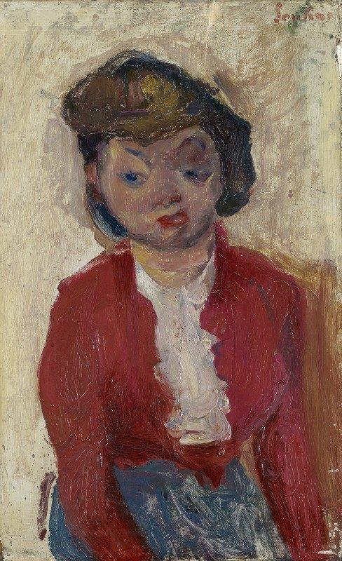 Chaïm Soutine - Young English Woman