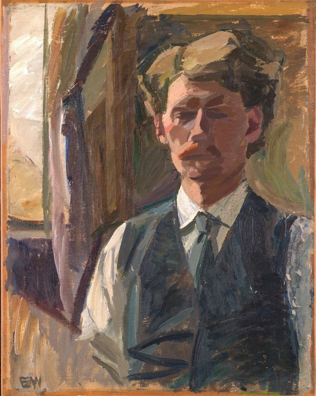 Edvard Weie - Self-Portrait