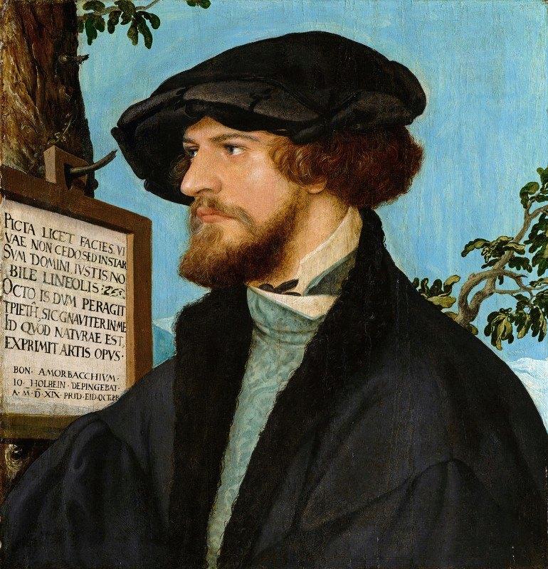 Hans Holbein The Younger - Portrait of Bonifacius Amerbach