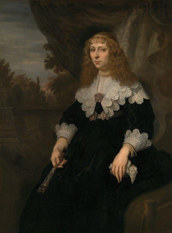 Joachim Von Sandrart - Eva Geelvinck (1619-1698)