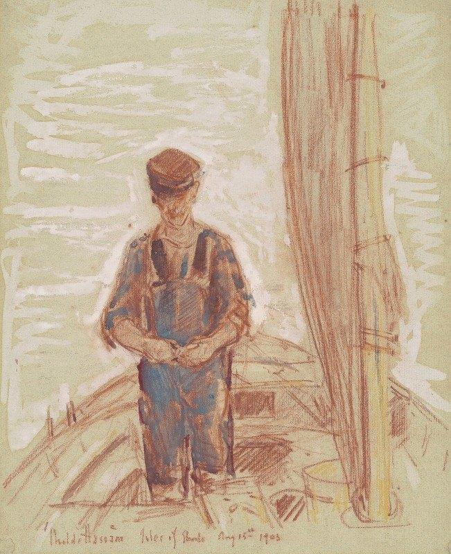 Childe Hassam - Fisherman, Isle Of Shoals