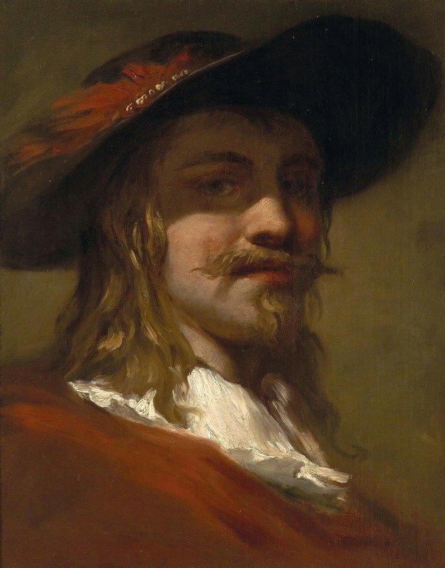 Christian Wilhelm Ernst Dietrich - Portrait Of A Man