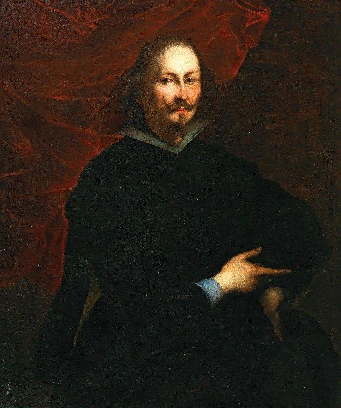 Valerio Castello - Portrait Of A Gentleman