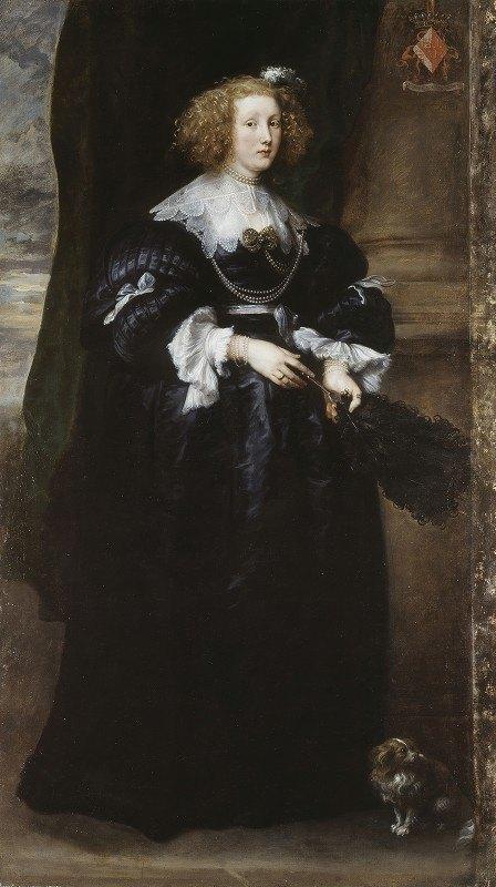 Anthony van Dyck - Marie de Raet