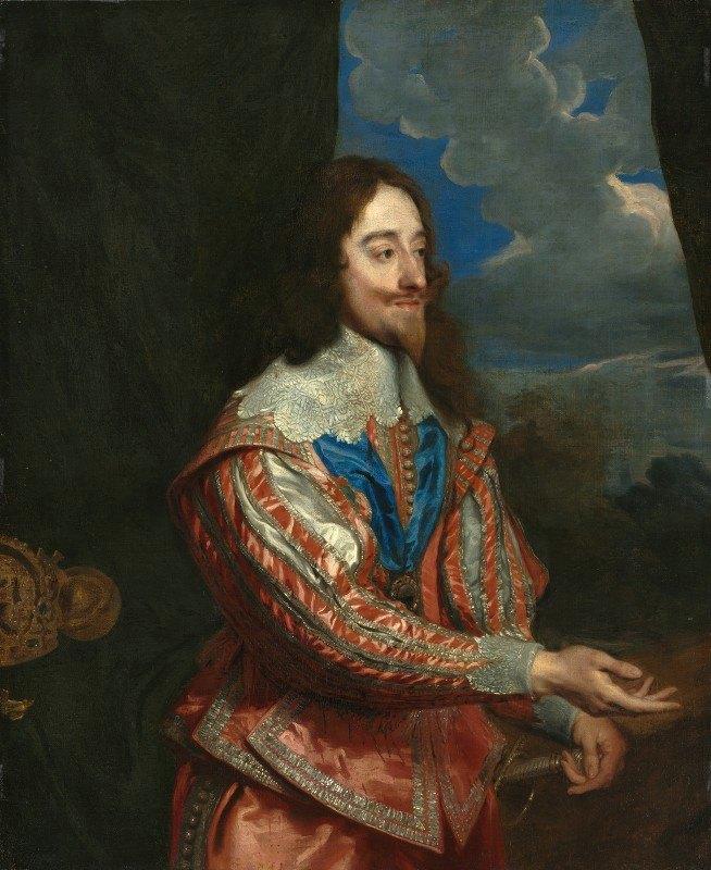 Anthony van Dyck - Portrait of Charles I (1600-1649)