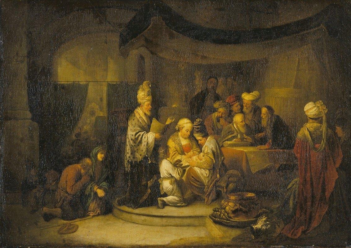 Christian Wilhelm Ernst Dietrich - The Circumcision