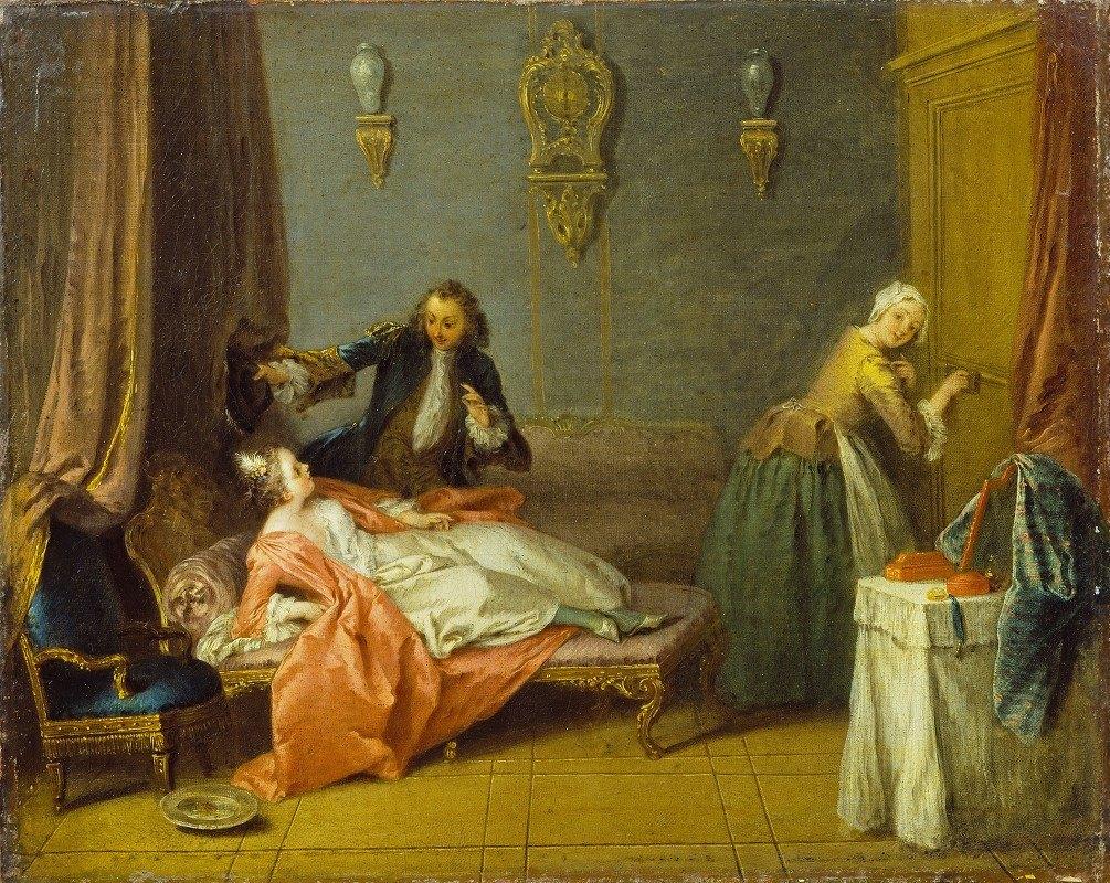 Jean-Baptiste Pater - The Boudoir