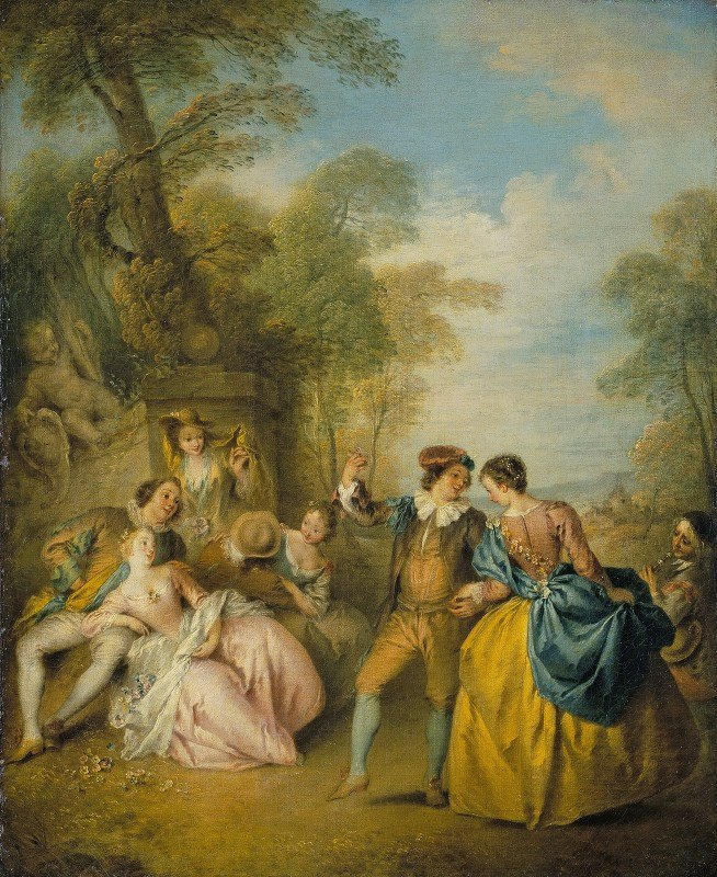 Jean-Baptiste Pater - La Danse (The Dance)