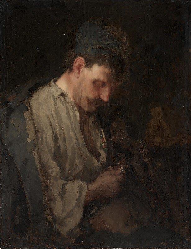 Max Bohm - Portrait of a Man