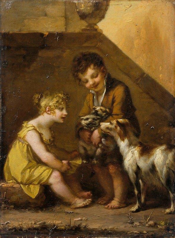 Pierre-Paul Prud'hon - Puppies