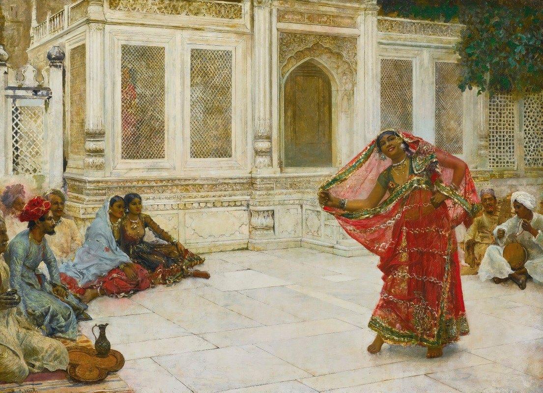 Edwin Lord Weeks - Dancing Girl, India