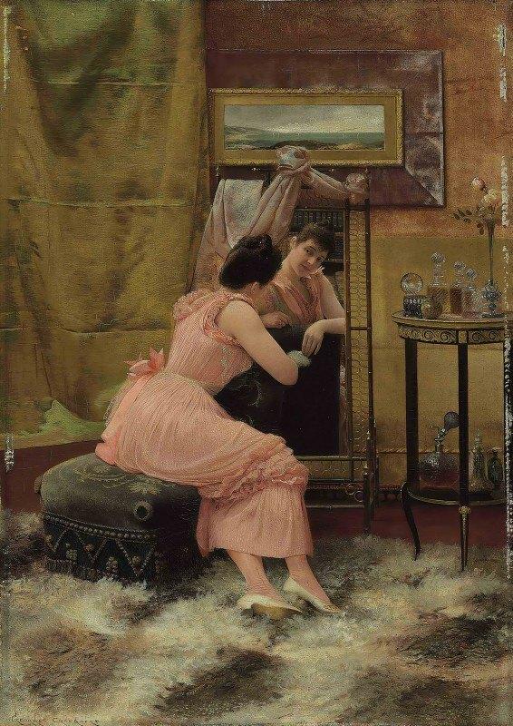 Georges Croegaert - The Mirror