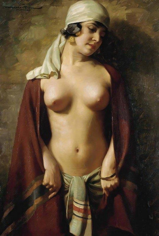 Hans Hassenteufel - Oriental Nude