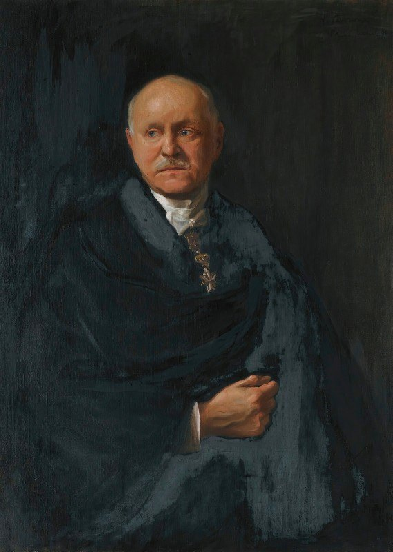 Philip Alexius de László - Portrait Of Monsieur Moroni