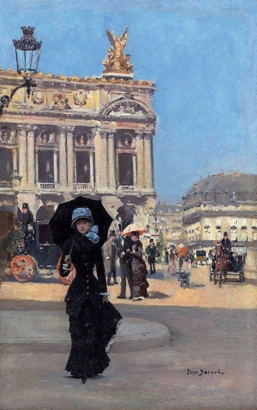 Jean Béraud - Devant l'Opéra