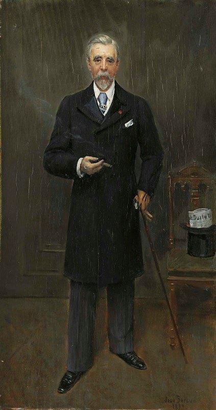 Jean Béraud - Portrait of Sir Campbell Clarke