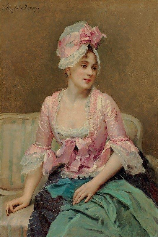 Raimundo de Madrazo y Garreta - Portrait of Aline Mason