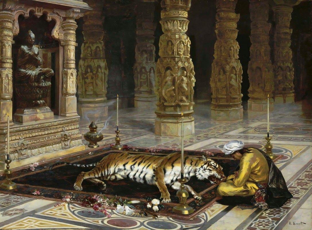 Rudolf Ernst - Honoring the Tiger