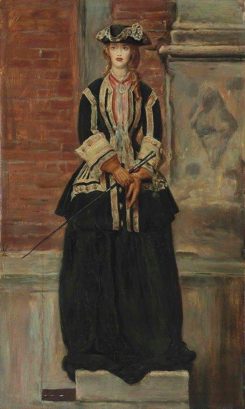 Sir John Everett Millais - Charlie is my Darling