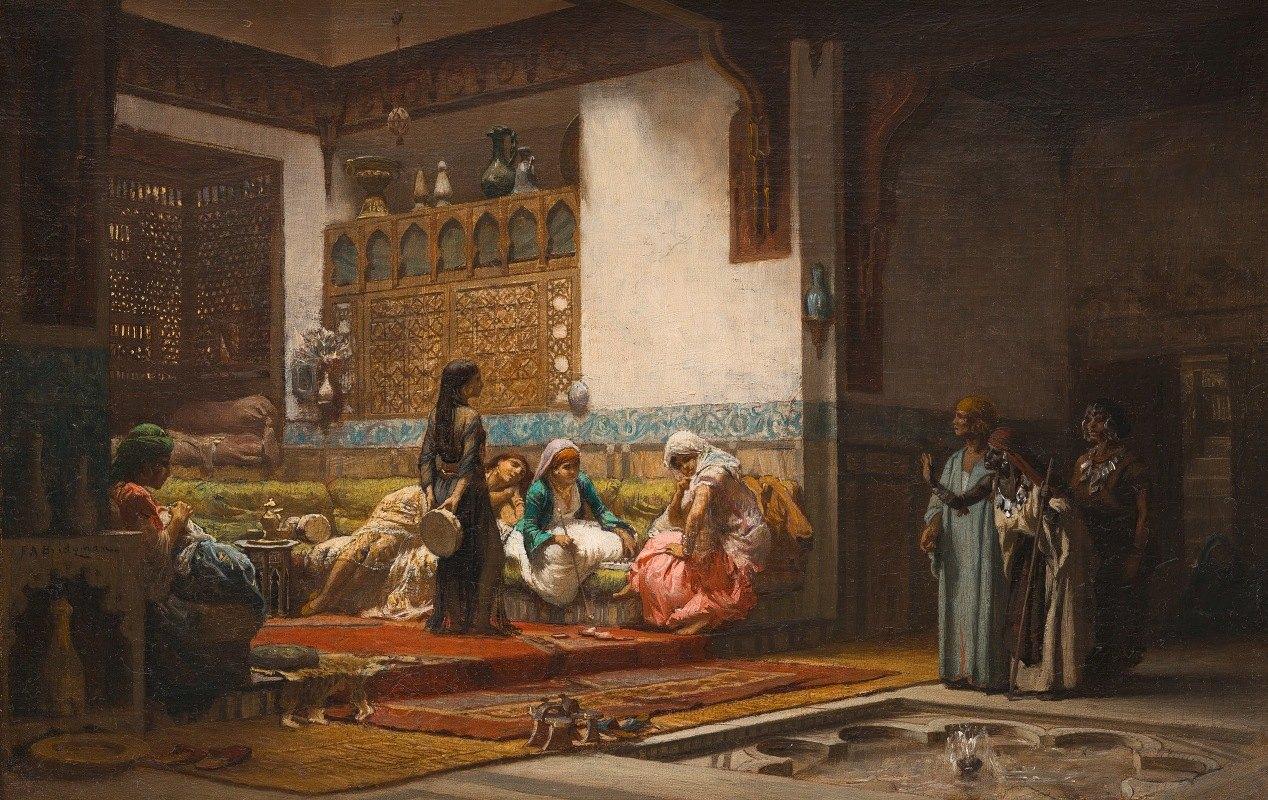Frederick Arthur Bridgman - Moorish Interior