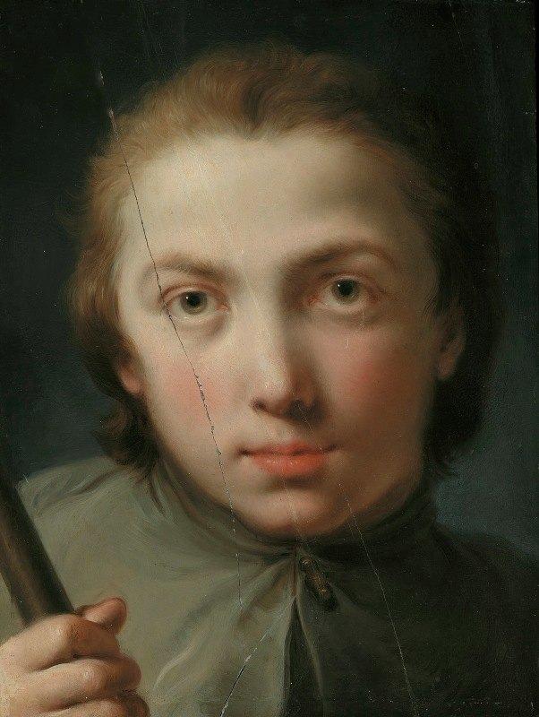 Gaetano Gandolfi - Head of a Boy