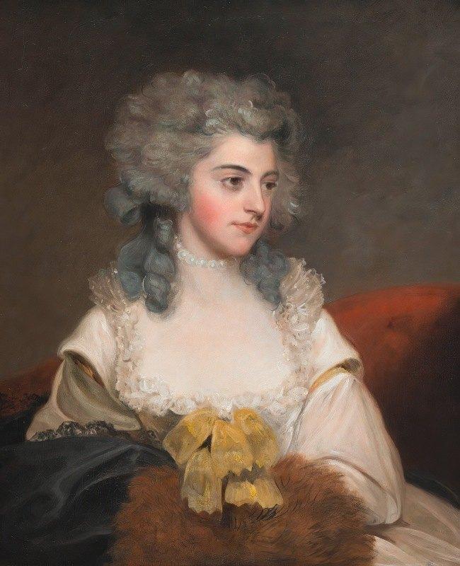 John Hoppner - Susannah Edith, Lady Rowley