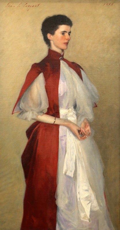 John Singer Sargent - Portrait of Mrs. Robert Harrison