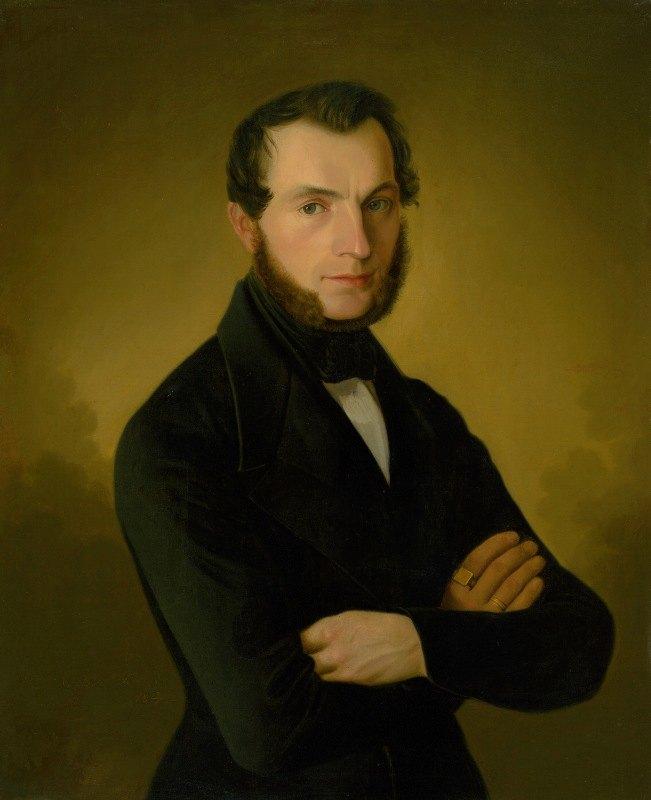Jozef Božetech Klemens - Portrait of Poděbrady Citizen A. Jupp