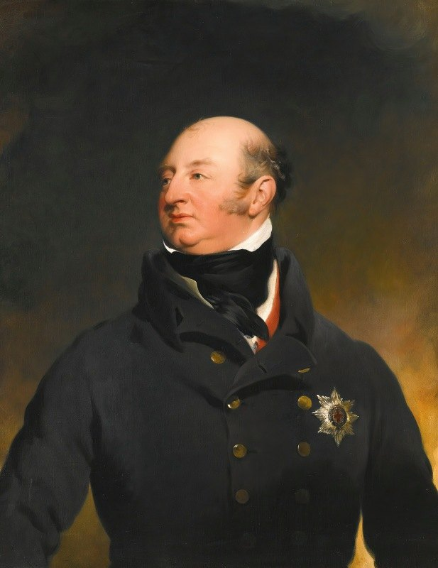 Sir Thomas Lawrence - Portrait Of H.R.H.Prince Frederick Augustus, Duke Of York